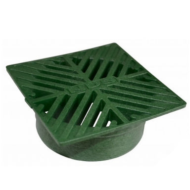 NDS - 01 - 4 in. Sq Grate-Green