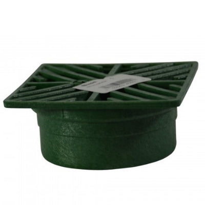"NDS - 05 - 6"" Sq Grate-Green"
