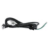 090081AG - 8-FT Electric Pigtail with Right-Angle Plug and Waterproof Gland