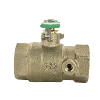 Wilkins - 1-850TXL - 1-inch Tapped Ball Valve Lead Free