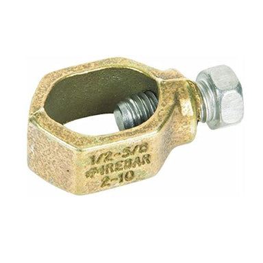"Paige - 182005 - Grounding Rod Clamp, UL Listed, Cast Bronze, Fits 5/8"" Rods"