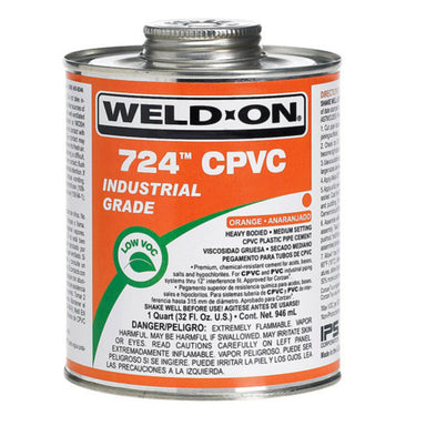 Weld-On - 11659 - 724 CPVC Cement, GRAY, 1-Quart