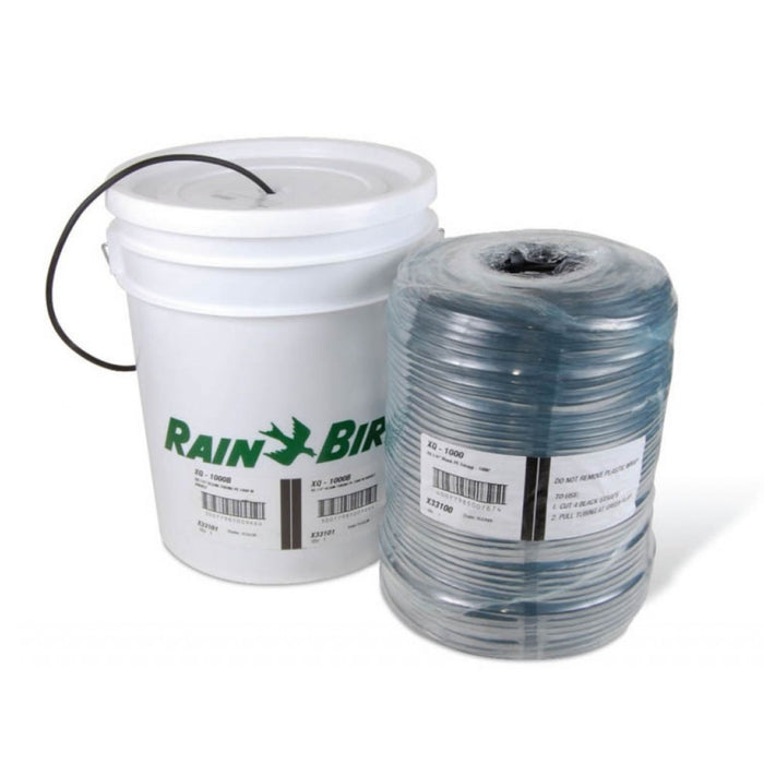 "Rain Bird - XQ1000B - 1/4"" Distribution Tubing, 1000' Coil, In Bucket"