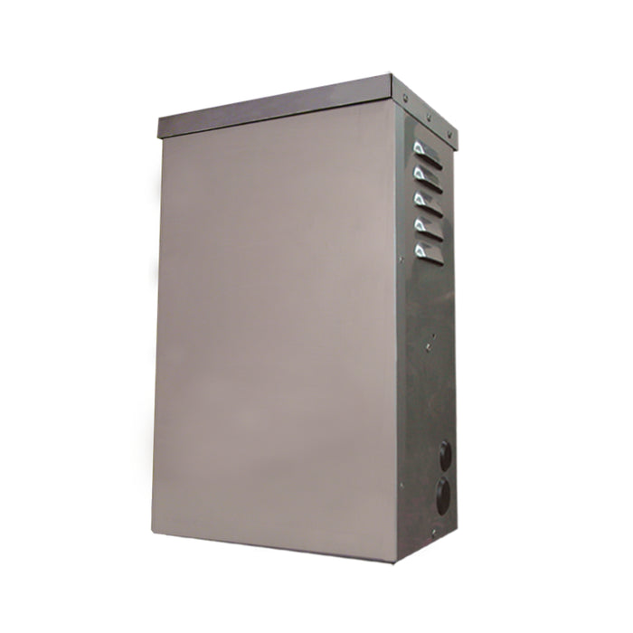 Unique - 600SS - 600 Watt Stainless Steel Mult-Matic Transformer, with Wired Secondary