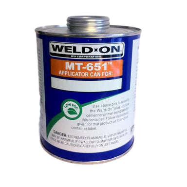 Weld-On - 10012 - Empty Quart Can