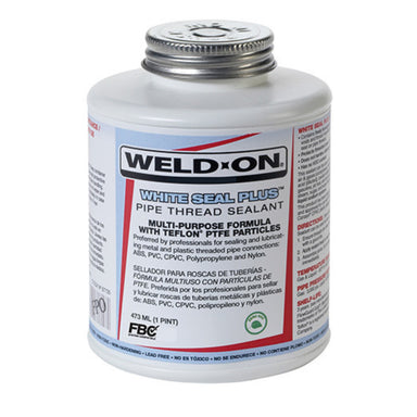 Weld-On - 87735 - White Seal Plus, Multi-Purpose Sealant, 1-Pint