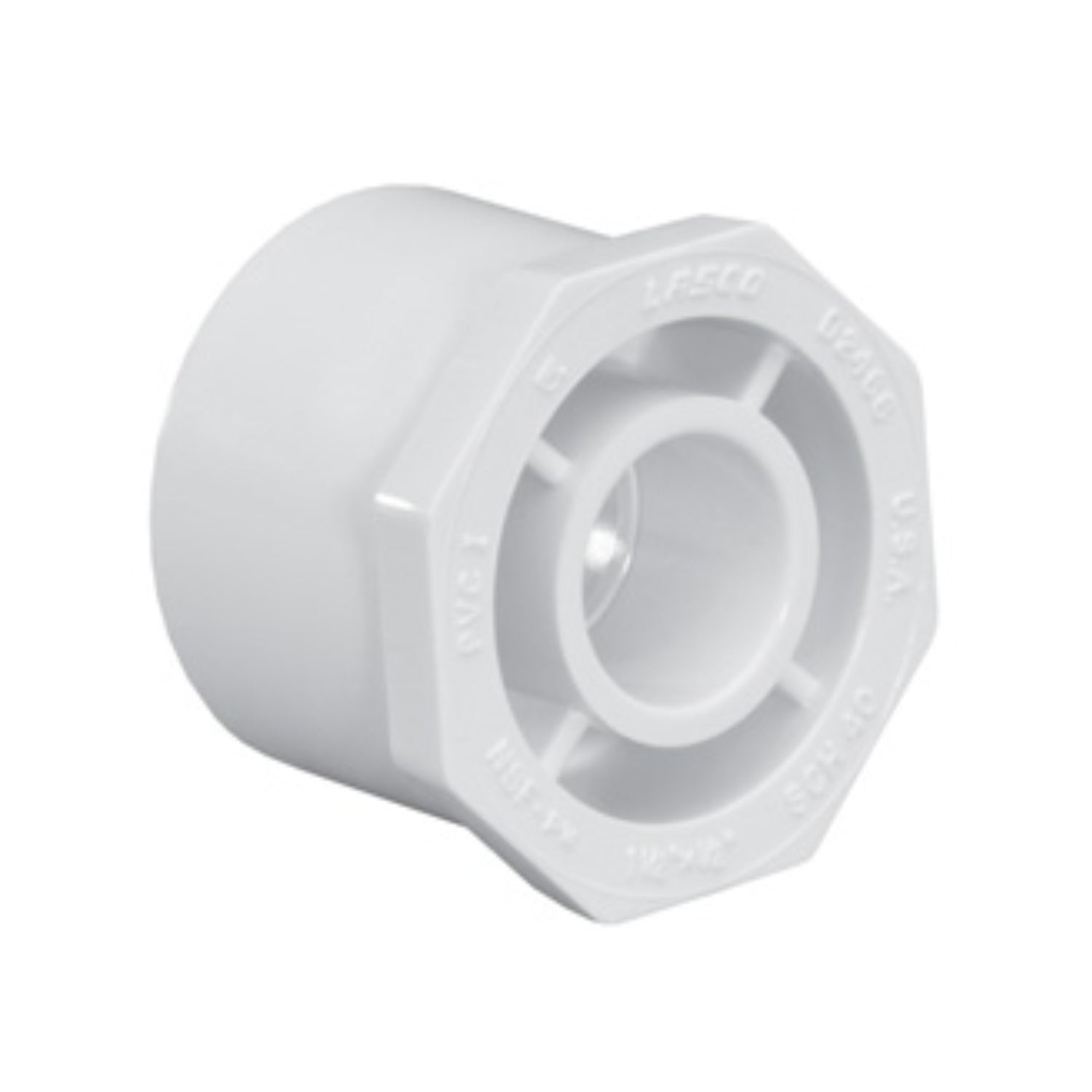 "Lasco - 437-166 - Reducer Bushing 1 1/4 x 1/2"" (Slip)"
