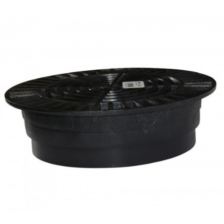 "NDS - 1040 - 10"" Rd Grate-Black"