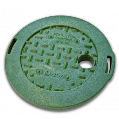 "NDS - 107BC - Standard 6"" Round, with Overlapping Cover, All Green"