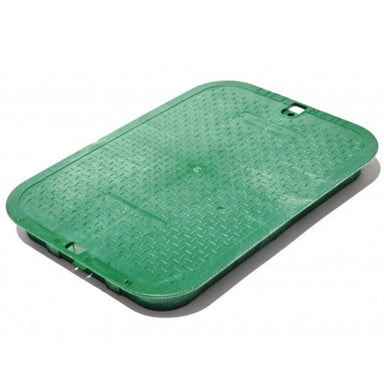 "NDS - 113C - Standard 14"" x 19"", Overlapping Lid, Green"