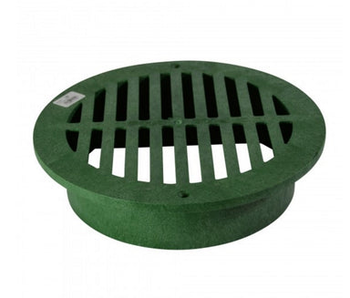 "NDS - 1250 - 12"" Rd Grate-Green"