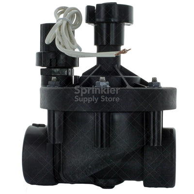 "Rain Bird - 150PESB - 1 1/2"" Plastic Industrial Valve with Scrubber"