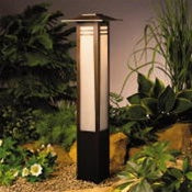 Kichler - 15392OZ - Zen Garden, Bollard Path Light, 12V
