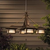 Kichler - 15409OZ - Zen Garden, Outdoor Chandelier, 12V