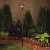 Kichler - 15421AGZ - Cotswold, Convertible Tiki Path & Spread Light, 12V