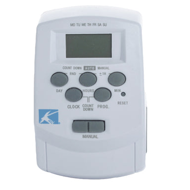 Kichler - 15556WH - Kichler 12V Digital Timer w/ Daylight Svngs - White