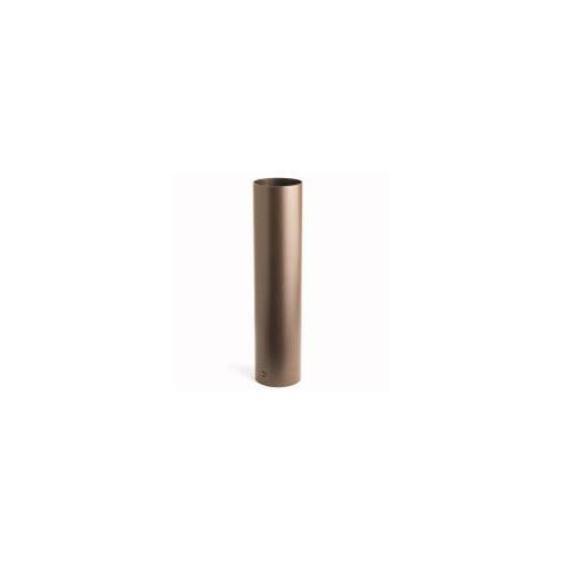 "Kichler - 15665AZT - 18"" Bollard Mount Kit, Textured Arch Bronze"