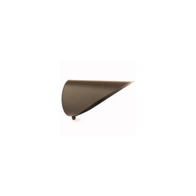 Kichler - 15668AZT - HID Long Cowl, Textured Architectural Bronze