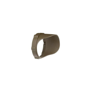 Kichler - 15702AZTP - LED Snap-on Cowl, Short, Textured Arch Bronze Polycarb