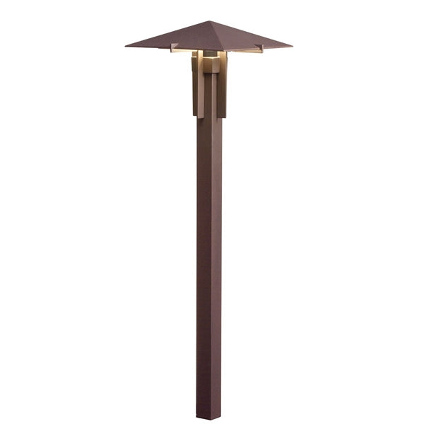 Kichler - 15803AZT27R -LED 2700K Mission Forged Path Light, Textured Architectural Bronze