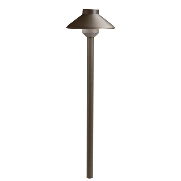 Kichler - 15821AZT27 -LED 2700K Llenita Path Light, Textured Architectural Bronze