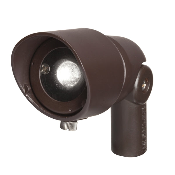 Kichler - 16003BBR27 - LED Spot Light, 2700 K, 4 W, 10 deg, Bronzed Brass