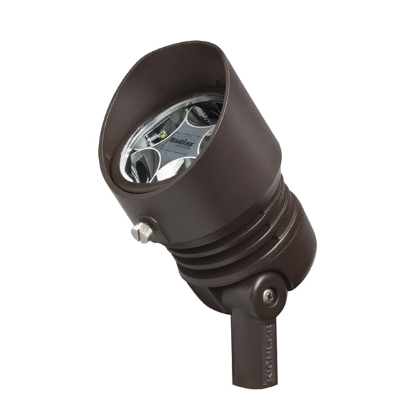 Kichler - 16006BBR27 - LED Spot Light, 2700K, 6.5W, 10 degrees, Bronzed Brass