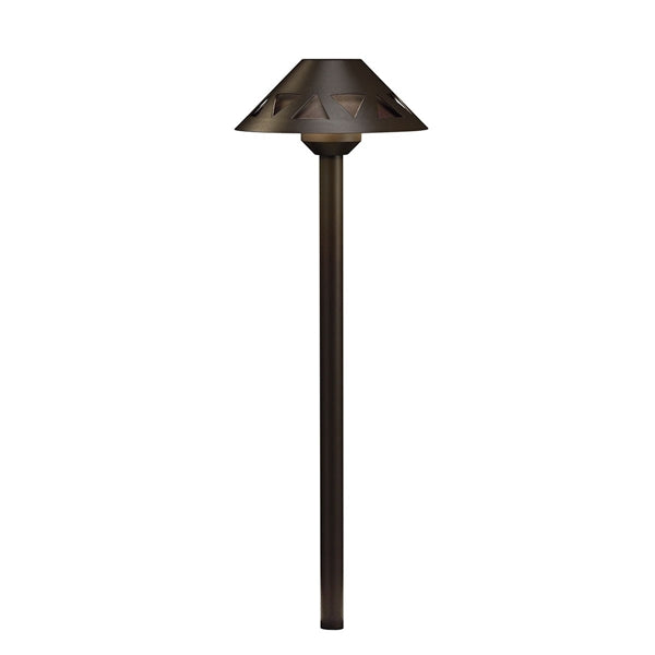 Kichler - 16122AZT30 -LED 3000K Overlay Path Light, AZT on Textured Tannery Bronze