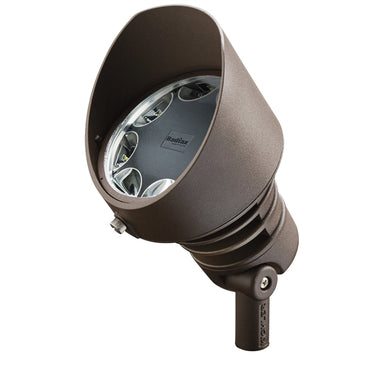 Kichler - 16207AZT30 - 120V LED Wide Flood, 3000K, 19.5W, 60 DEG, Textured Bronze