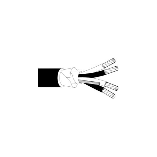 P7171D -Underground Communication Cable Shielded - 18 AWG/2 PAIRS - Priced Per Linear Foot