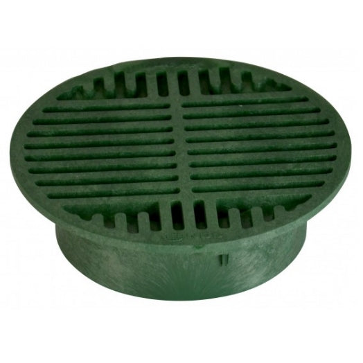 "NDS - 20 - 8"" Rd Grate-Green"