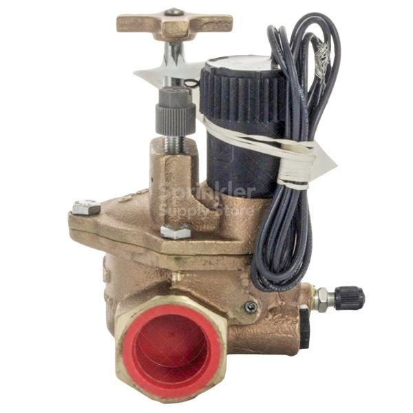 "Toro - 220-27-04 - Toro 1"" Electric Brass In-Line Valve, with Pressure Regulation"