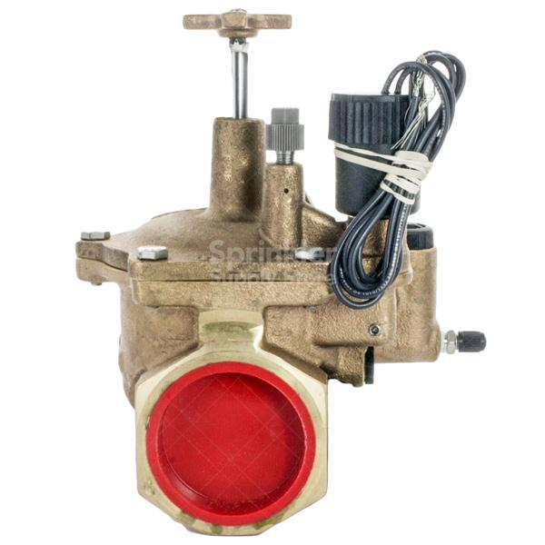 "Toro - 220-26-06 - 1 1/2"" Electric In-Line Brass Valve"