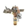 Rain Bird - 25PJDAC - Brass Impact Sprinkler 0.5-inch MPT, 50-FT Spacing