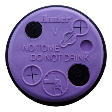 Hunter - 349800 - Reclaimed Water Id Cap