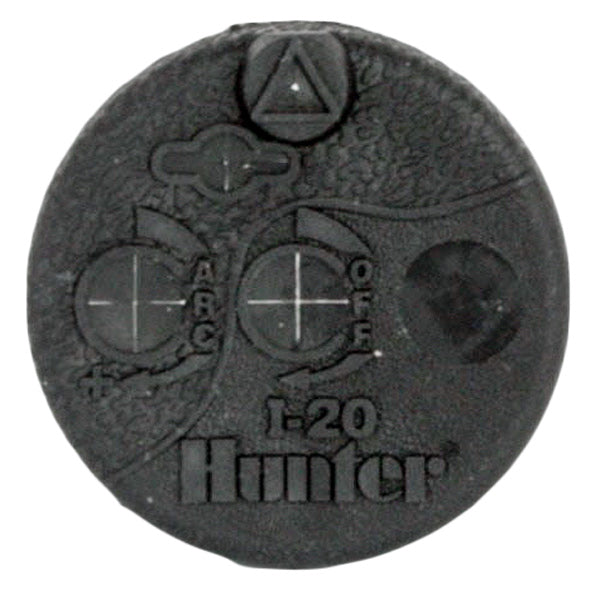 Hunter I-20 Rubber Top 352476 Replacement Black Cover Cap for i20 Rotor
