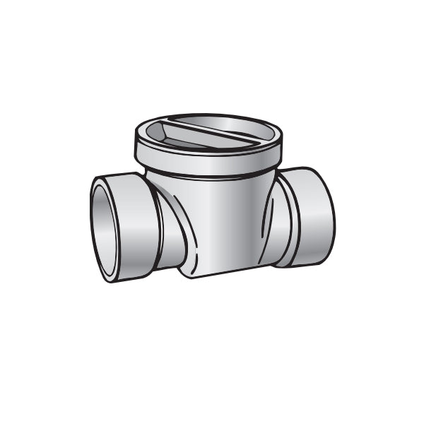 NDS - 475P - 4 in PVC Backwater valve