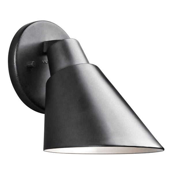 Kichler - 49082BK - Beach Light Wall Light, Black Painted