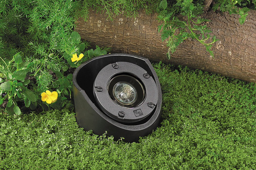 Vista - GW-5282-B-NL - Well Light Composite Housing Black (No Lamp)