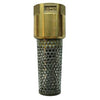 5340-11/2 - 5340 Series 1.5 inch Lead-Free Brass Foot Valve