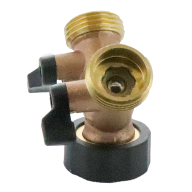 Orbit - 58248N - Garden Hose Brass Y with Shutoff