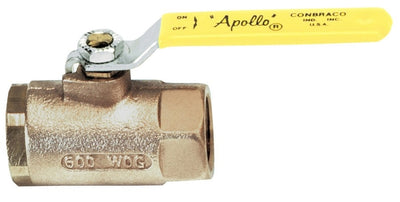 "2"" Thread Ball Valve w/SS Lever & Nut"