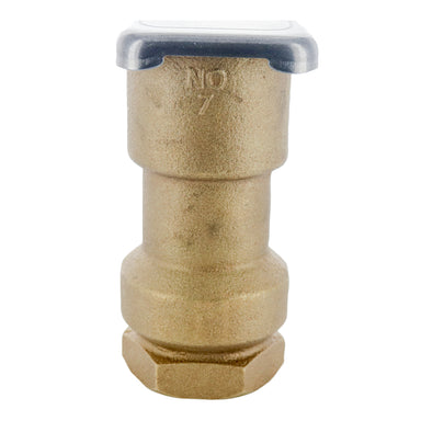 "Rain Bird - 7 - 1 1/2"" Metal Cover Coupling Valve"