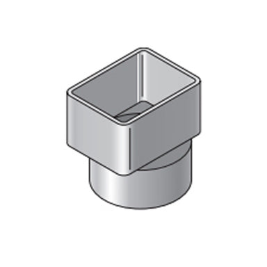 NDS - 9P03 - 2X3X3 Downspout Adapter Offset