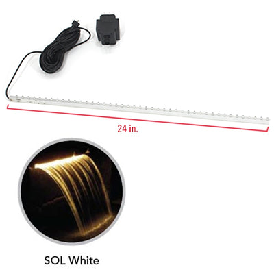 Atlantic Water Gardens - CFBULB24SW - Sol White Rep.Bulb & Transformer 24""