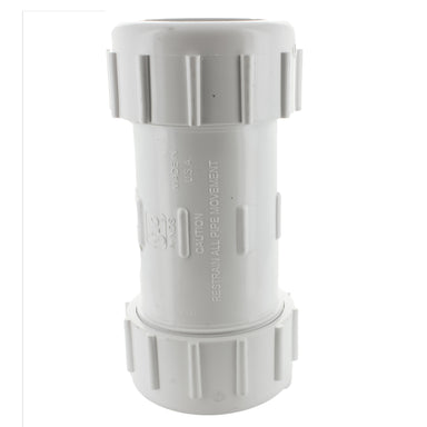 Lasco - 110-12 - 1 1/4 in. PVC Compression Coupling