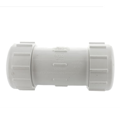 Lasco - 110-25 - 2 1/2 in. PVC Compression Coupling