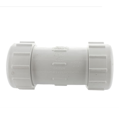 Lasco - 110-10 - 1 in. PVC Compression Coupling