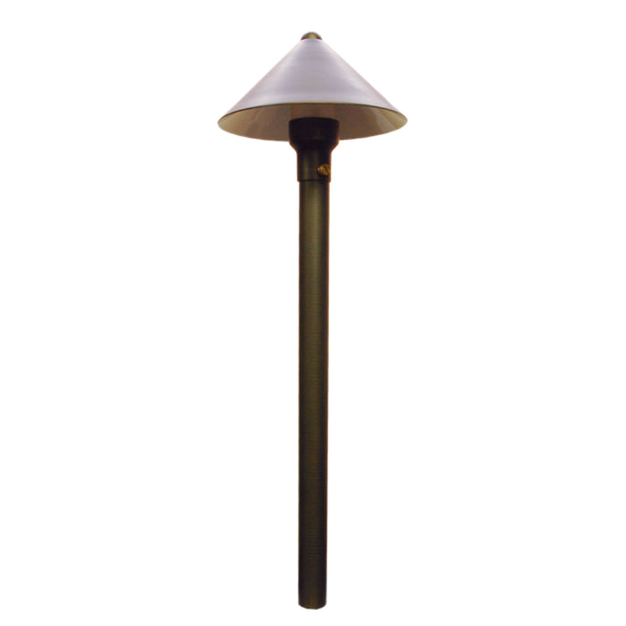 Unique - CHAN-NL - Chancellor Path Light Brass Housing Weathered Brass Finish No Lamp