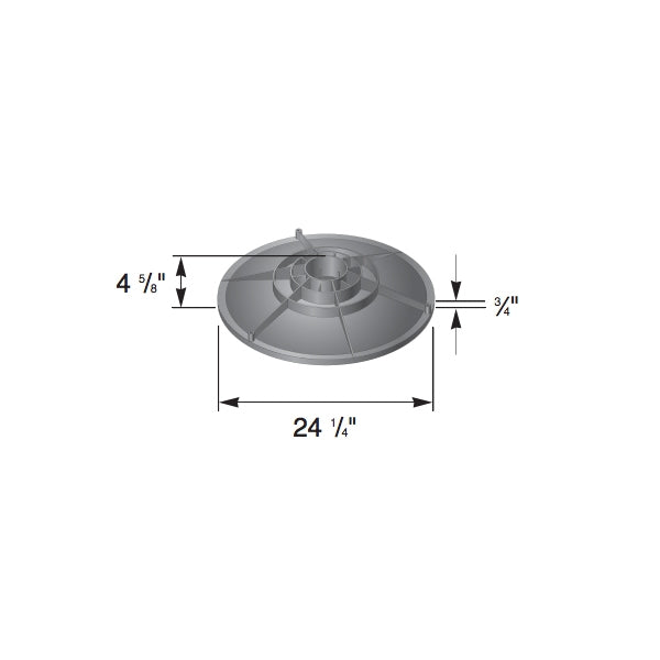 NDS - FWAS24C - 24 Round Cover for Flo Well